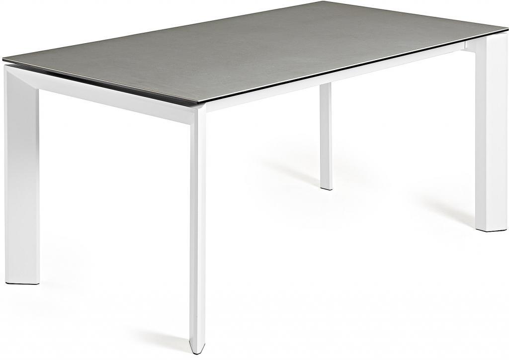 Eettafel Wit 200 Cm.Laforma Eettafel Atta Verlengbaar 140 Tot 200 Cm Keramiek Hydro